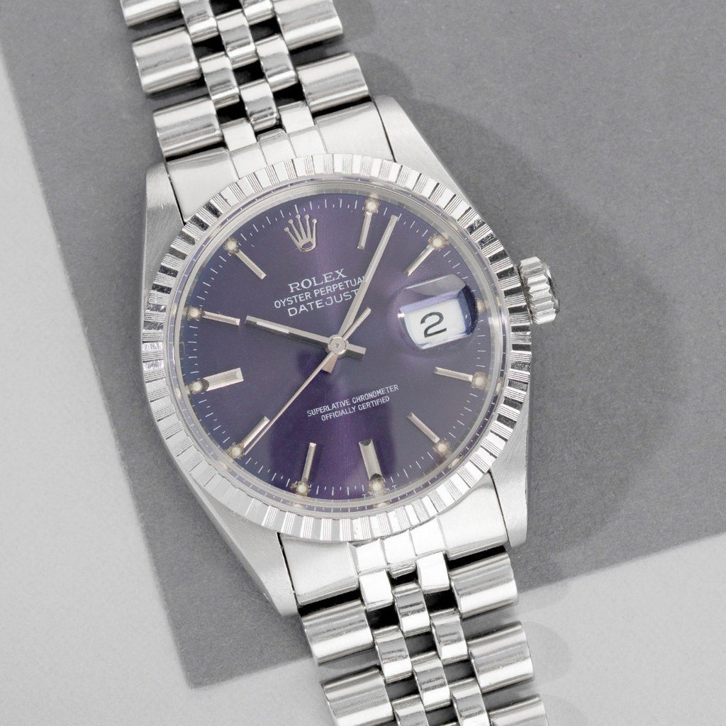 Rolex Datejust The Purple Rain 16030 Full Set