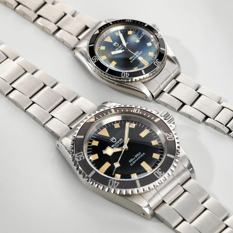 Curated Tudor Submariners Snowflake 7016 plus Mini-Sub 90910