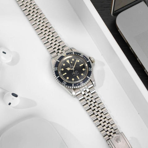 Tudor 7928 Submariner Gilt Chapter Ring