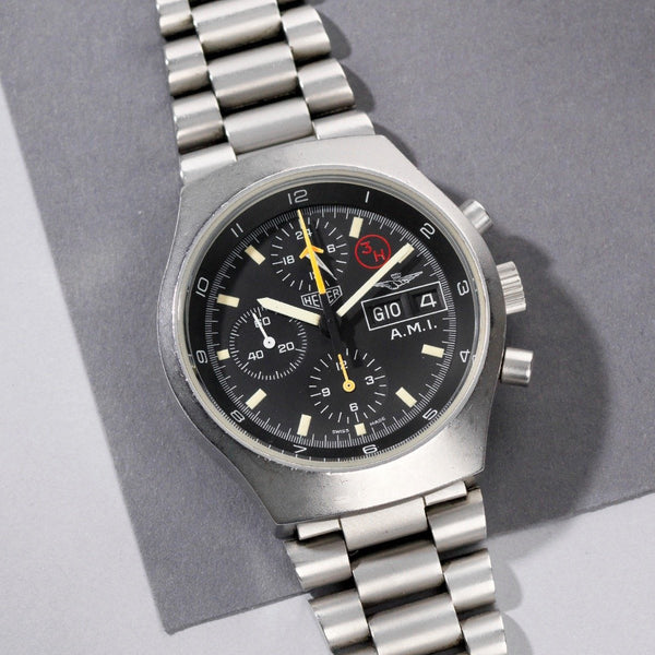 Heuer Issued A.M.I Military Chronograph 510.543 it