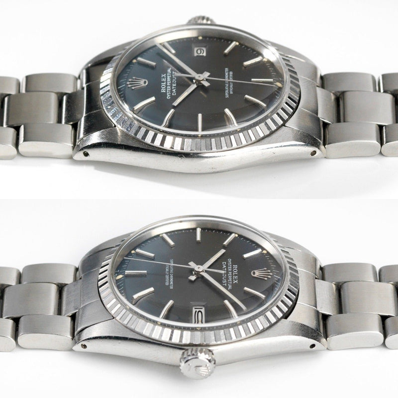Rolex 1603 Datejust Grey Dial 1972 Tropic Crystal
