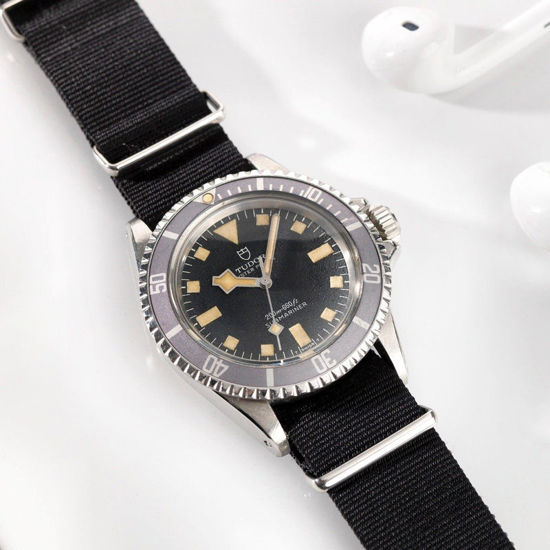 Curated Tudor Military Submariner Marine Nationale 1974