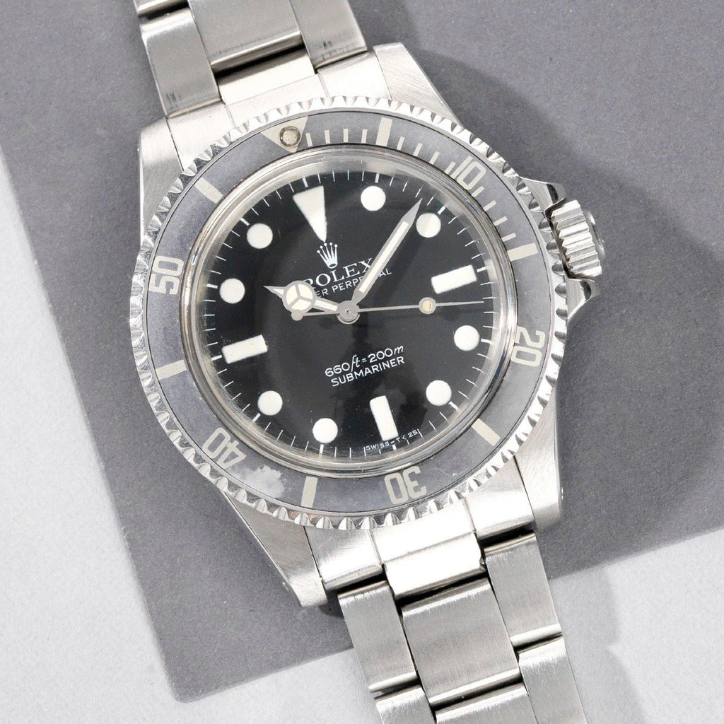 Curated Rolex Submariner Mk 1 Maxi Dial 5513