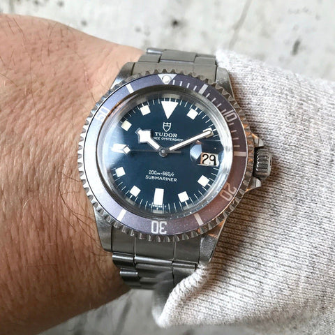Tudor Submariner Blue Snowflake Reference 94110