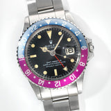 Rolex 1675  Mk1 Pink Lady GMT Master Long E