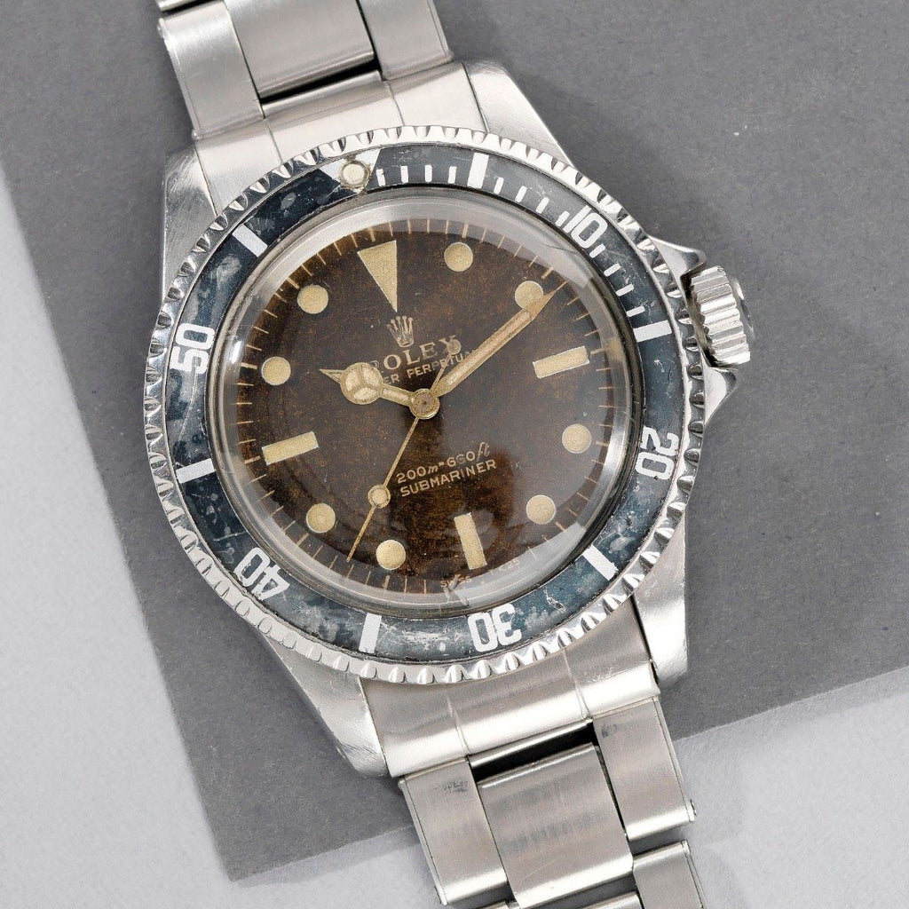 Rolex Submariner Tropical Bart Simpson Dial 5513