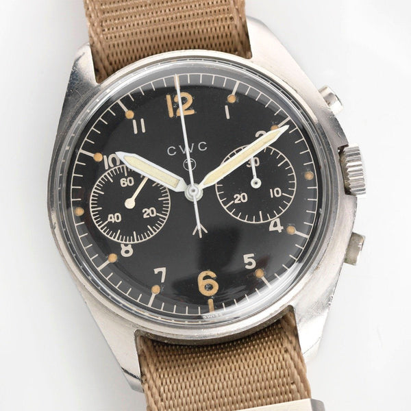 CWC Chronograph Issued to the British Royal Air Force