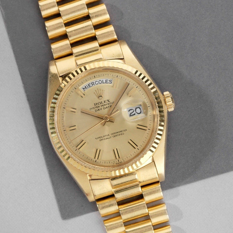 Rolex Day-Date Wide Boy Dial 1803