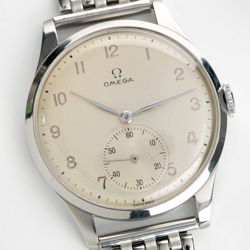 Omega 2181-1 Calatrava Dresswatch Oversized 38mm