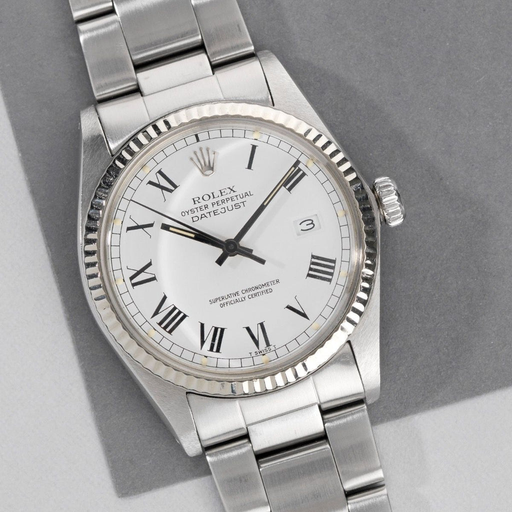 Rolex Datejust Reference 16014 Buckley Dial