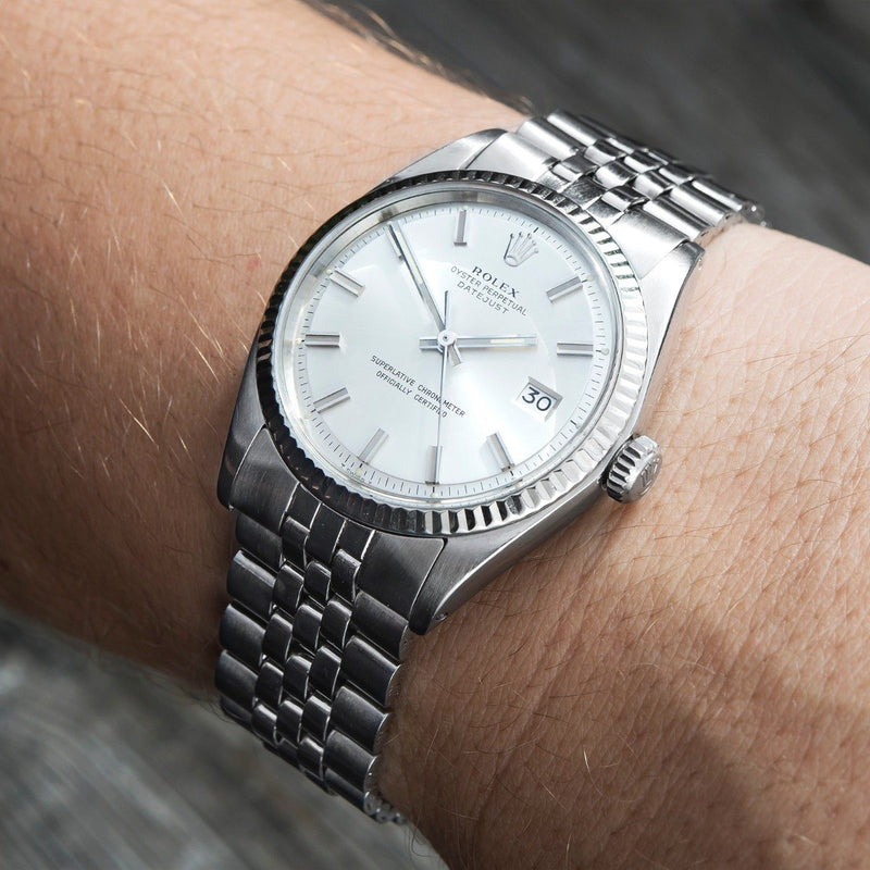 Rolex Datejust Reference 1601 Wide Boy Dial