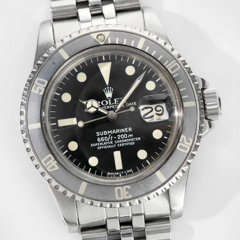 Rolex Submariner Date Model Reference 1680 MK1