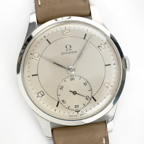 Omega Calatrava Reference 2181-1 Large Case 38mm