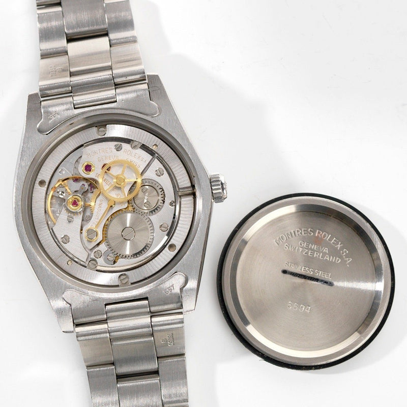 Rolex Oysterdate Silver Dial Reference 6694