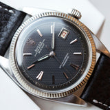Rolex Datejust Black Honeycomb Dial 6305-1