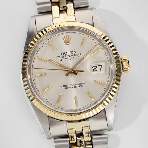 Rolex Datejust Rare Chapter-Ring Dial 16013