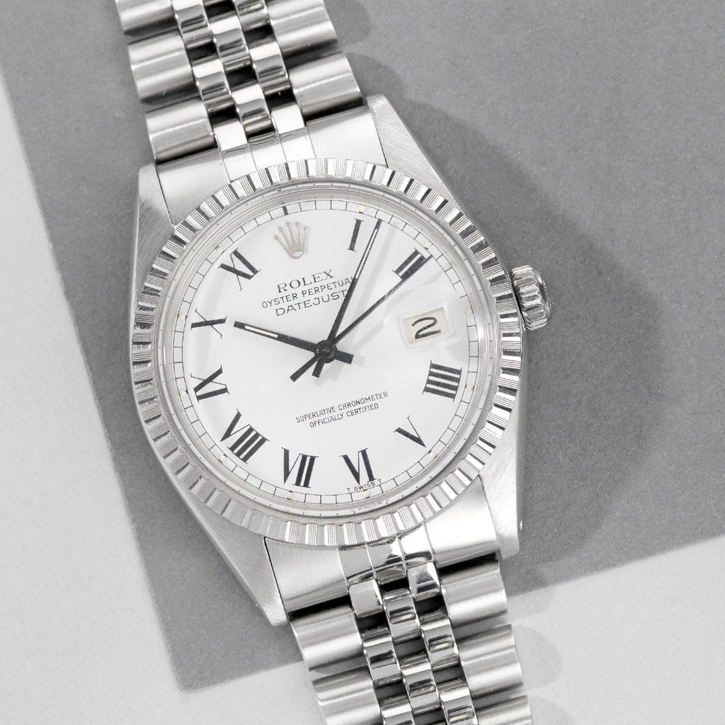 Rolex Datejust Reference 16030 Buckley Dial