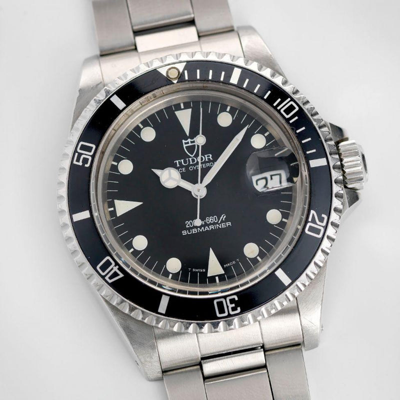 Tudor Submariner Black Dial Reference 79090