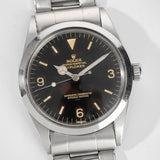 Rolex Explorer Gilt Underline Tropical Dial 1016