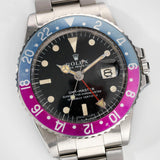 Rolex 1675  Mk1 –Long E Pink Lady GMT Master
