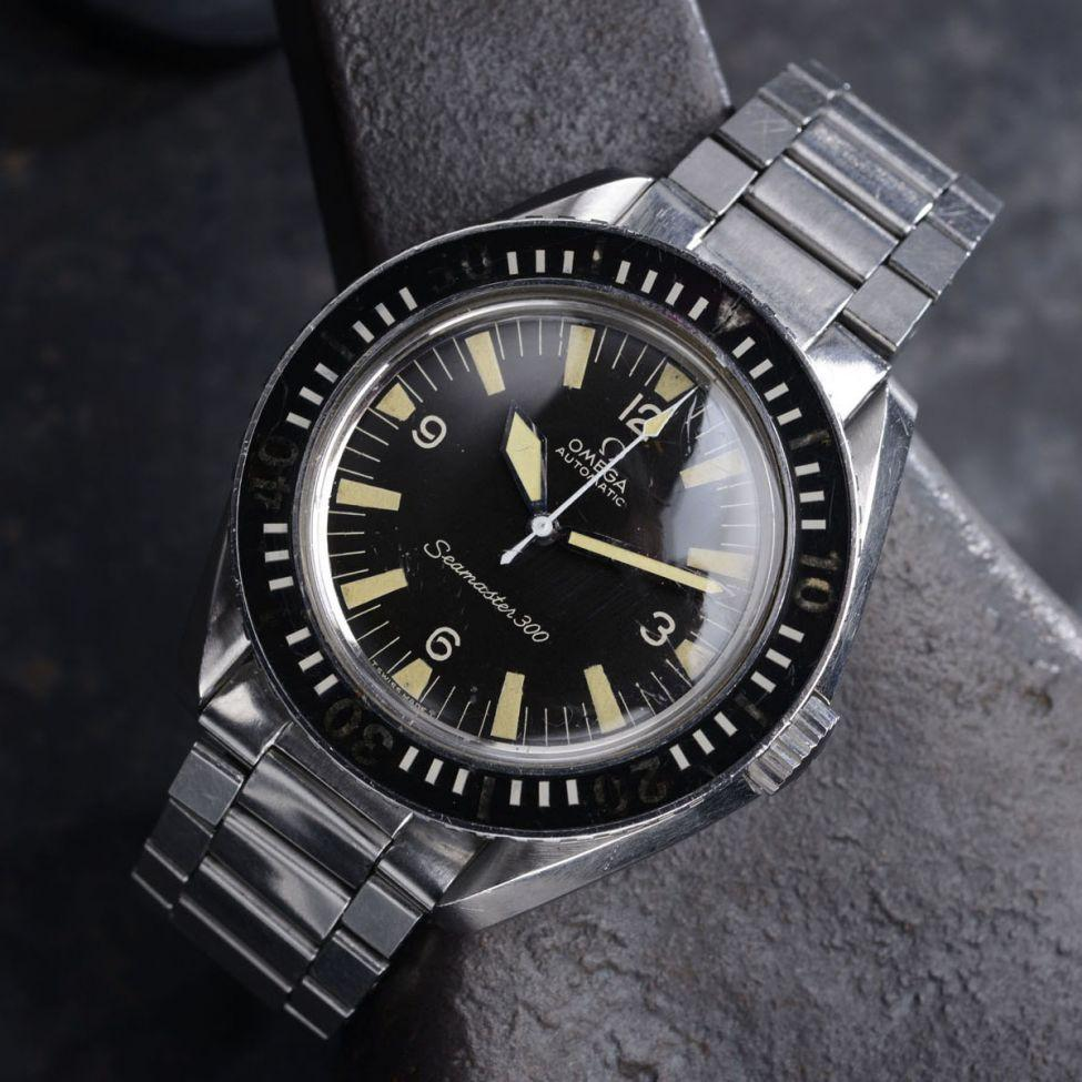 CURATED DARK KNIGHT OMEGA SM300 SEAMASTER