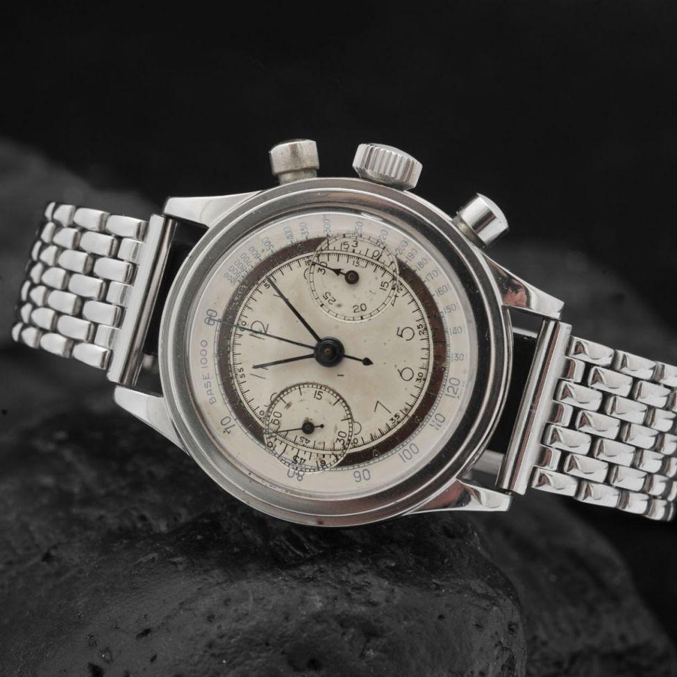 RARE DRIVA STEP CASE CHRONOGRAPH