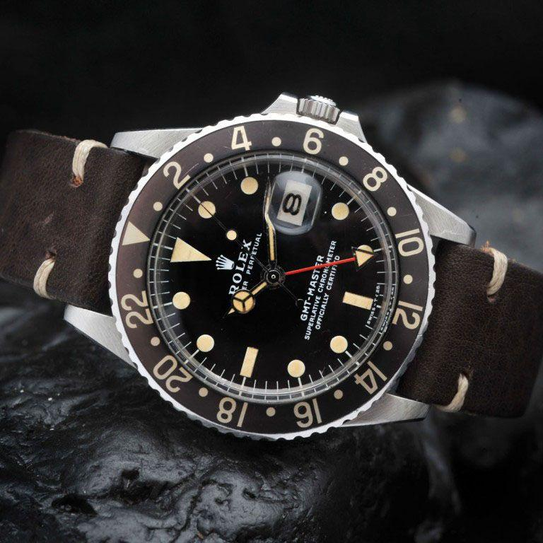 """CURATED"" SEXY PATINA ROLEX 1675 GMT"