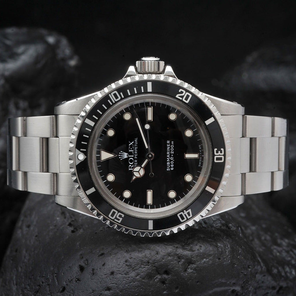 ROLEX 5513 SUBMARINER (WG) Timeless classic in a full package