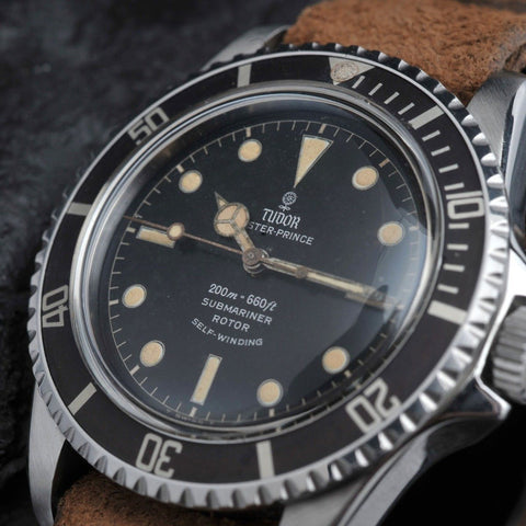 TUDOR 7928 SUBMARINER POINTED CROWNGUARD