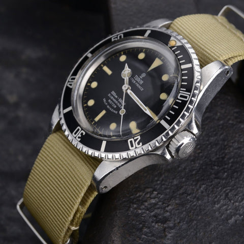 UNPOLISHED TUDOR 7928 GILT SUBMARINER
