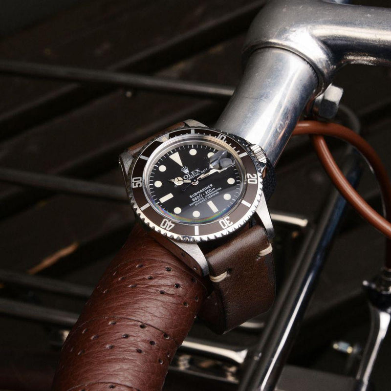 CURATED 'URBAN RIDER' ROLEX 1680 SUBMARINER AND BIKE