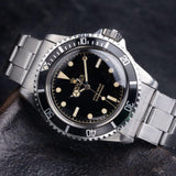 CURATED 'STRAPDELICIOUS' ROLEX 5512 GILT SUBMARINER 1962