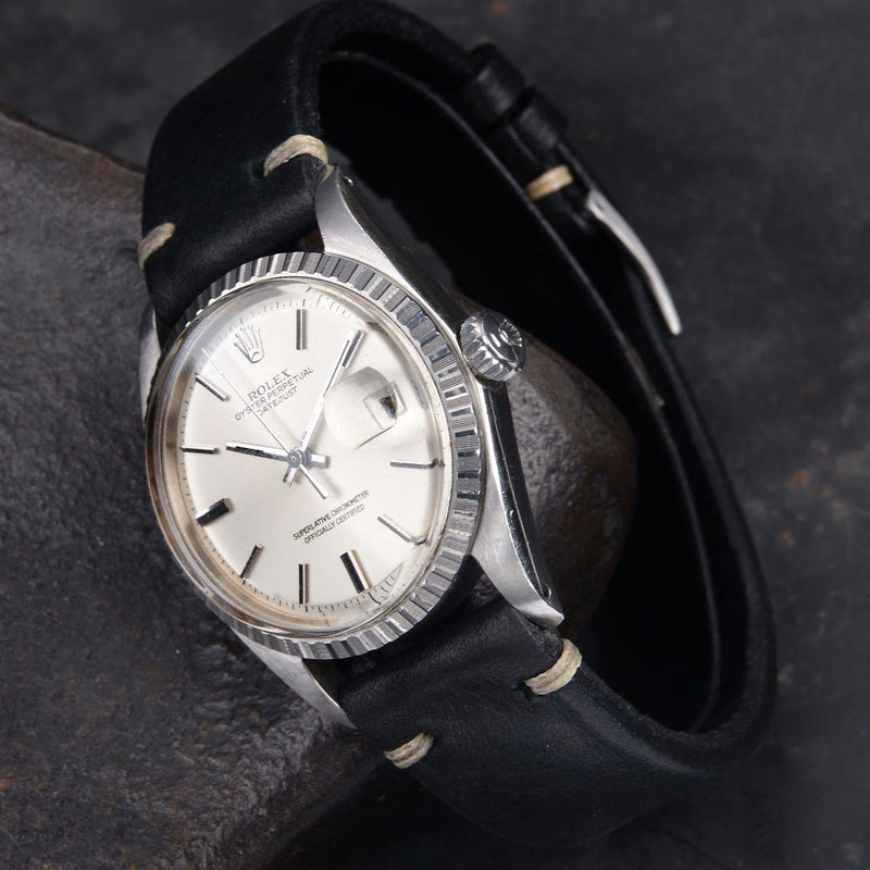 ROLEX 1603 DATEJUST SILVER DIAL 1978