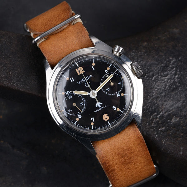 LEMANIA BRITISH RAF CHRONOGRAPH