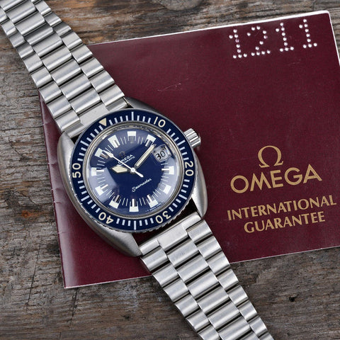 OMEGA SEAMASTER 120 MINT CONDITION