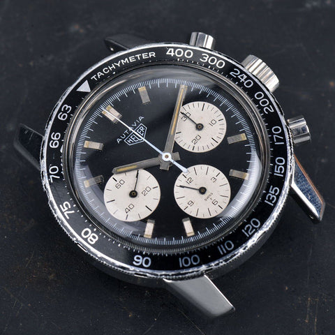 HEUER 2446 AUTAVIA CHRONOGRAPH PACKAGE