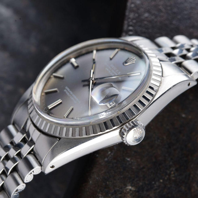 ROLEX 1603 DATEJUST GREY DIAL 1972