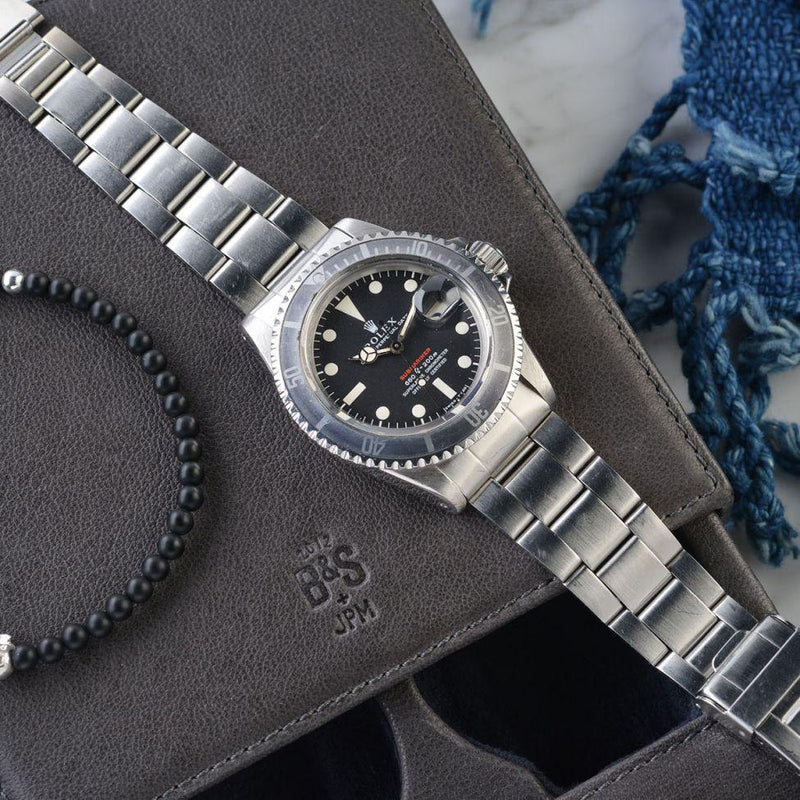 CURATED ROLEX 1680 RED SUBMARINER MK4