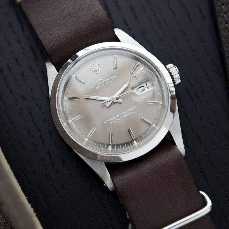 ROLEX 1600 DATEJUST BROWN SIGMA DIAL