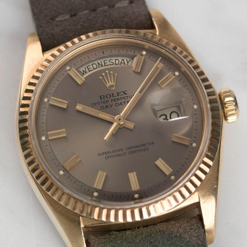ROLEX DAY DATE 1803 GREY WIDE BODY