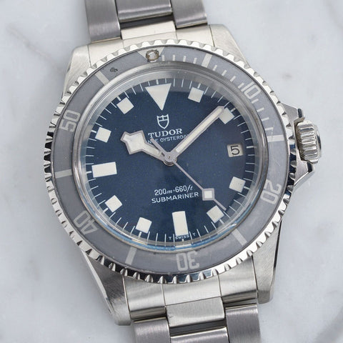 TUDOR 7021/0 SUBMARINER BLUE SNOWFLAKE