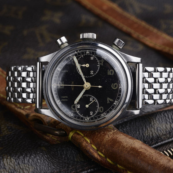 RECTA BLACK GILT 38 MM 40TH CHRONOGRAPH