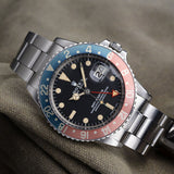 ROLEX ALL REDHAND 1675 GMT