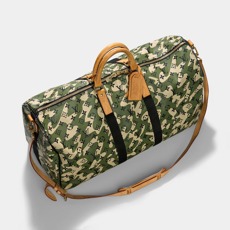 Louis Vuitton Murakami Monogramouflage Keepall 55