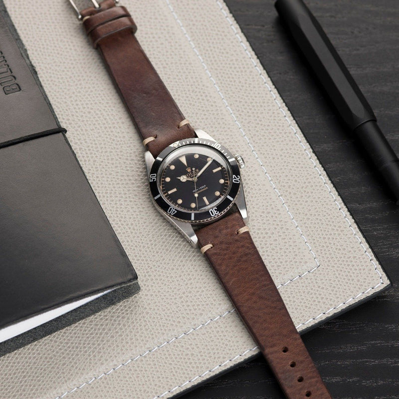 Rolex Lumberjack Brown Leather Watch Strap