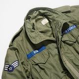 Vintage 1969 Air Force M-65 Field Jacket Regular Length