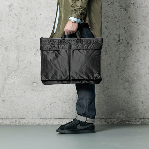 Porter Tanker Brief Case L Black