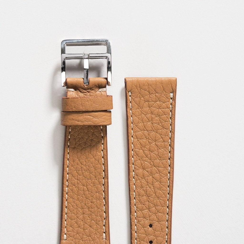 Medium Brown Leather Watch Strap
