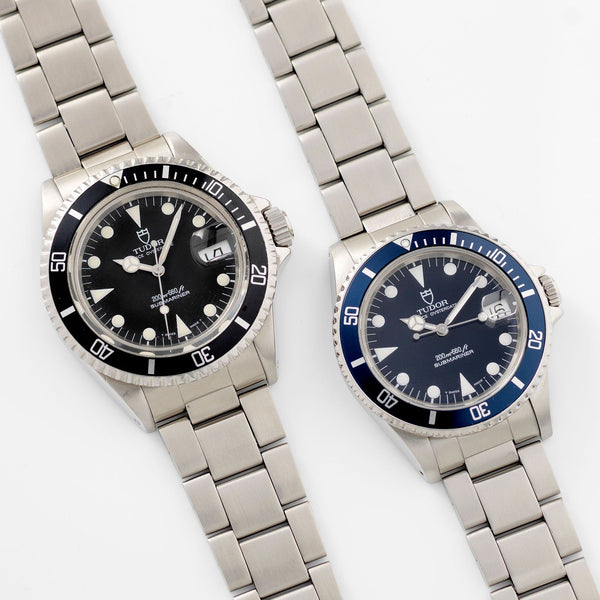 Tudor Submariners Package 79090 Black and 75090 Blue