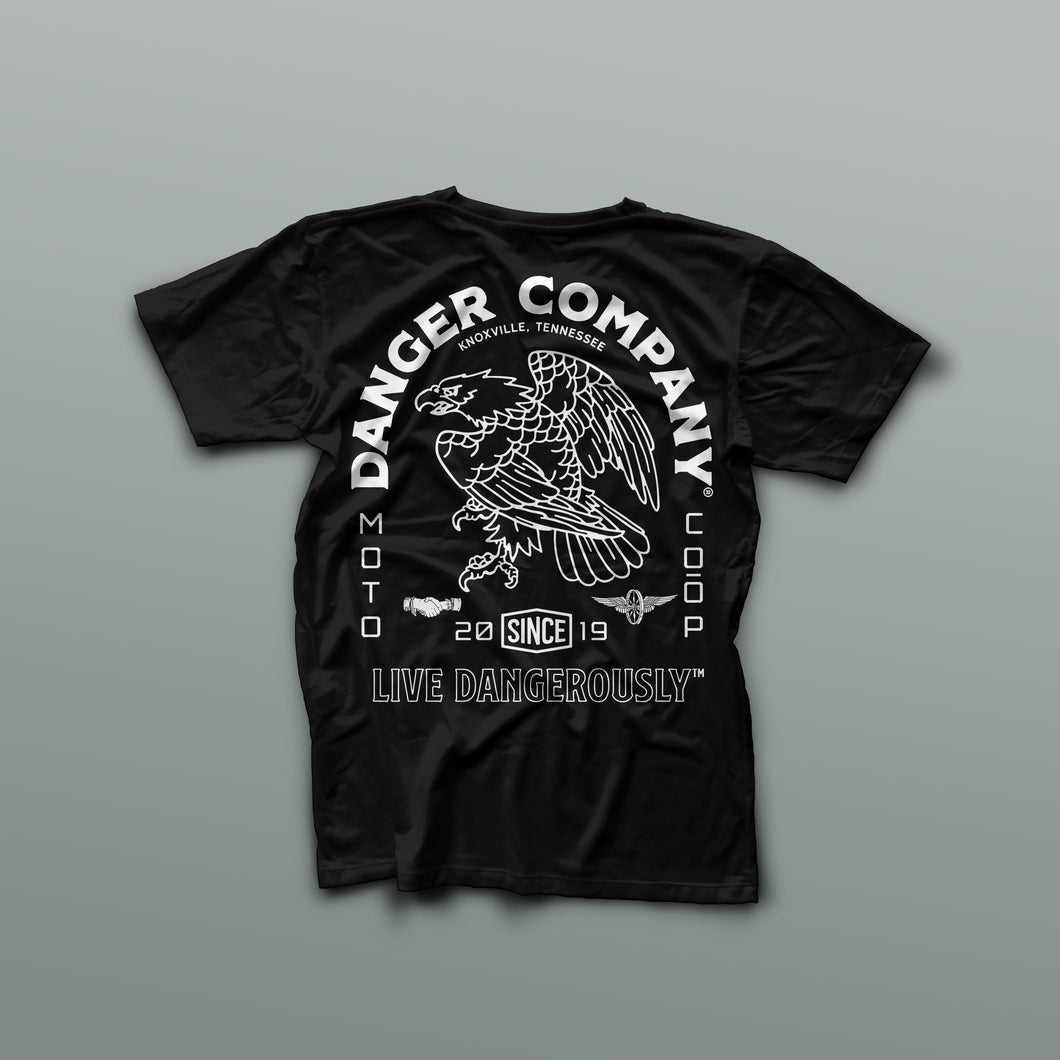 Danger Co. Short Sleeve Heavyweight Americana Tee